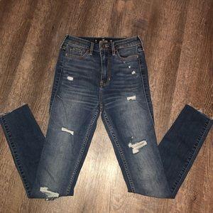 Hollister High-Rise Super Skinny Jean